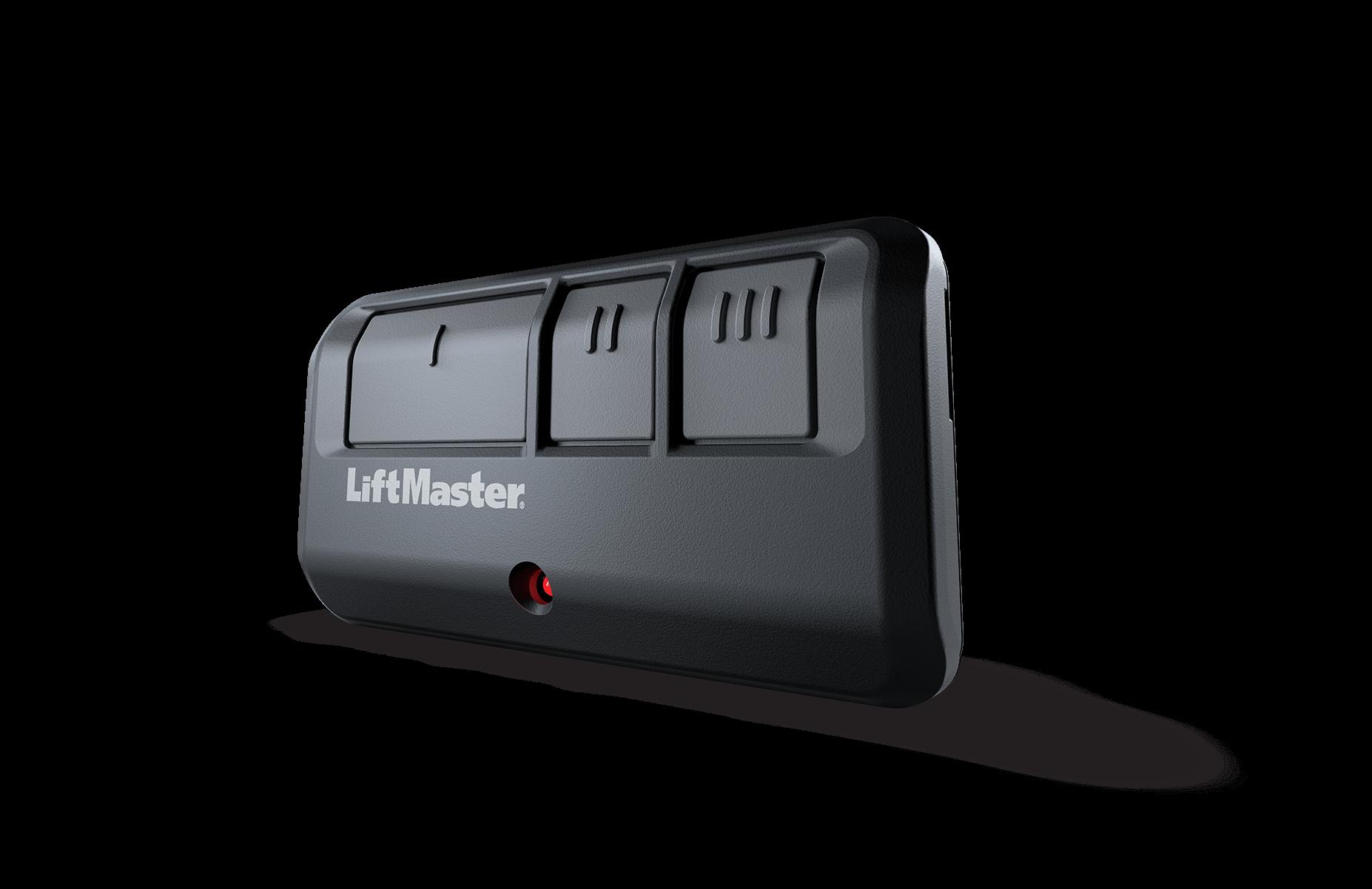 car visor garage door opener remotes