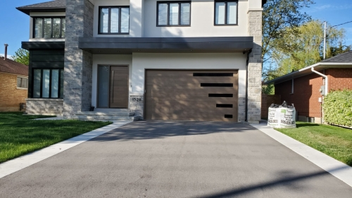 Classy-modern-garage-door-with-horizontal-windows-Pro-Entry-Services